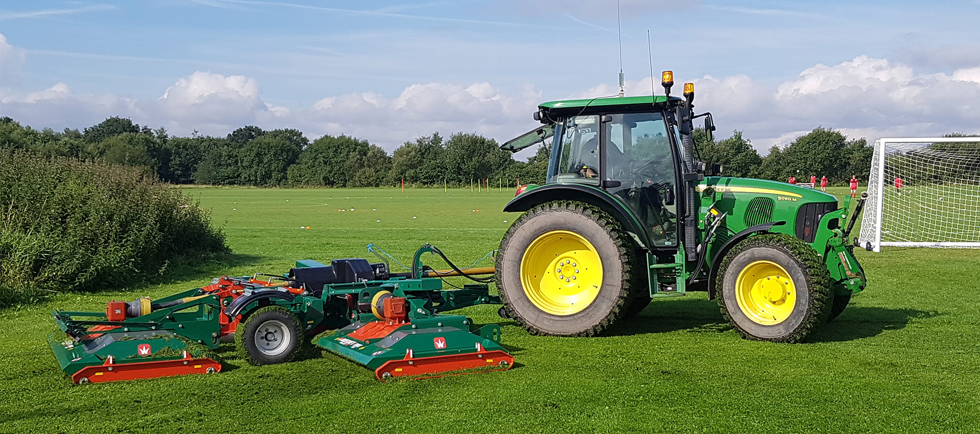 Sports Field & Pitch Groundcare Maintenance Bolton Manchester